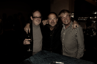 Tom with Les Stroud
